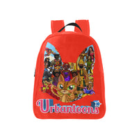 Urbantoons Toon Nation Kids Medium School Backpack (Model 1601)(Medium) - UrbanToons Inc.