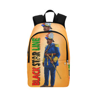 Marcus Garvey Black Star Line Fabric Backpack for Adult (Model 1659) - UrbanToons Inc.