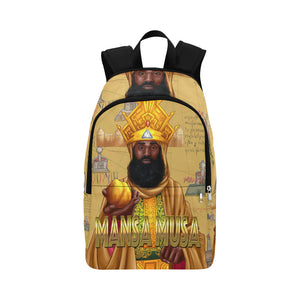 Mansa Musa (Adult) Fabric Backpack for Adult (Model 1659) - UrbanToons Inc.