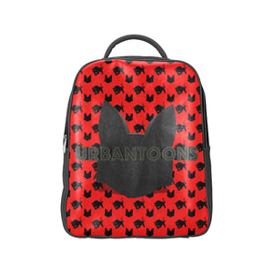Urbantoons Black & Toons Back Pack Popular Backpack (Model 1622) - UrbanToons Inc.