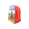 Little Red Riding Hood  School Backpack/Large (Model 1601) - UrbanToons Inc.