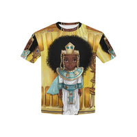 Shakura Egypt All Over Print T-shirt for Kid (USA Size) (Model T40) - UrbanToons Inc.