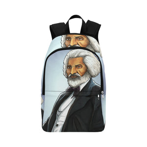 Fredrick Douglass Fabric Backpack for Adult (Model 1659) - UrbanToons Inc.