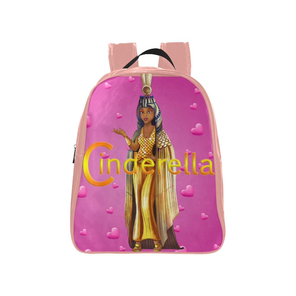 Urbantoons Cinderella School Backpack (Medium) - UrbanToons Inc.
