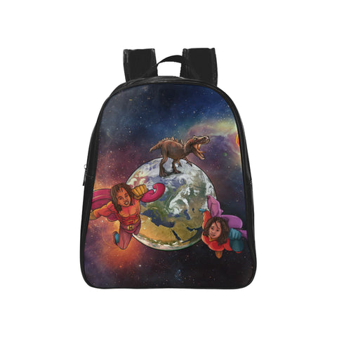 Urbantoons Jahloni & Jahbril  School Backpack (Medium)