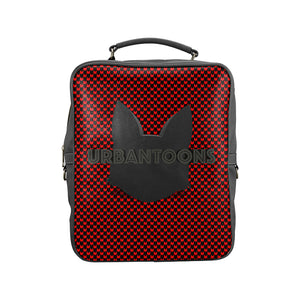 Urbantoons Travel Bag Backpack Square Backpack (Model 1618) - UrbanToons Inc.