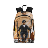 Urbantoons Huey P Newton: Black Panthers Backpack for Adult - UrbanToons Inc.