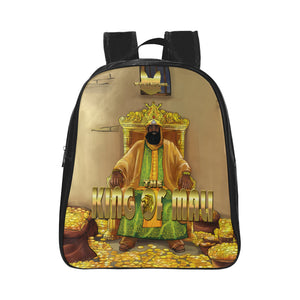 Urbantoons King of Mali:  Mansa Musa School Backpack (Small) FREE SHIPPING - UrbanToons Inc.