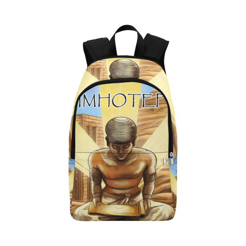 Urbantoons Egyptian Bag Imhotep Fabric Backpack for Adult - UrbanToons Inc.
