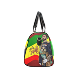 Haile Selassi I hand bag New Waterproof Travel Bag/Large (Model 1639) - UrbanToons Inc.