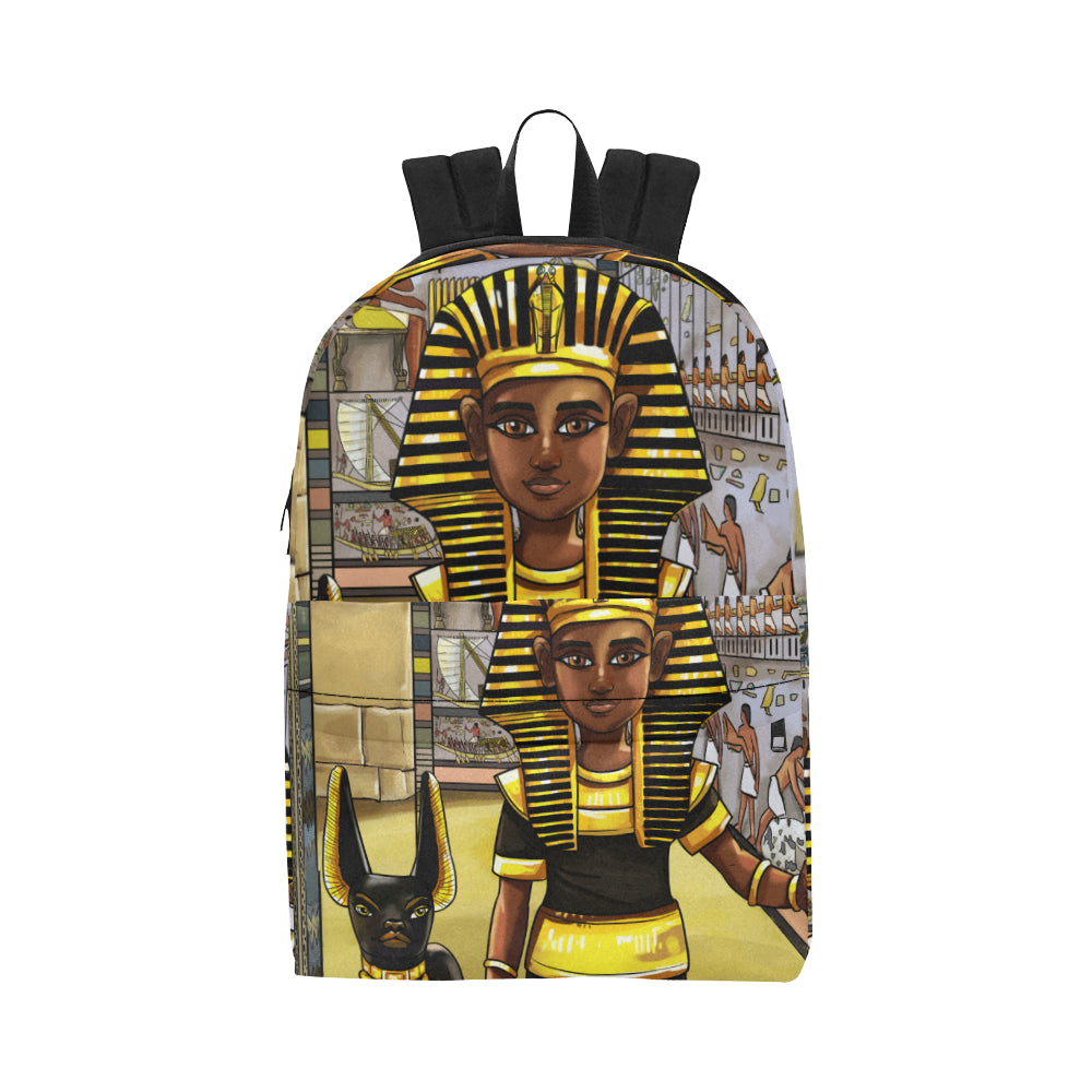 Urbantoons King Tut Adult Unisex Classic Backpack (Model 1673) - UrbanToons Inc.