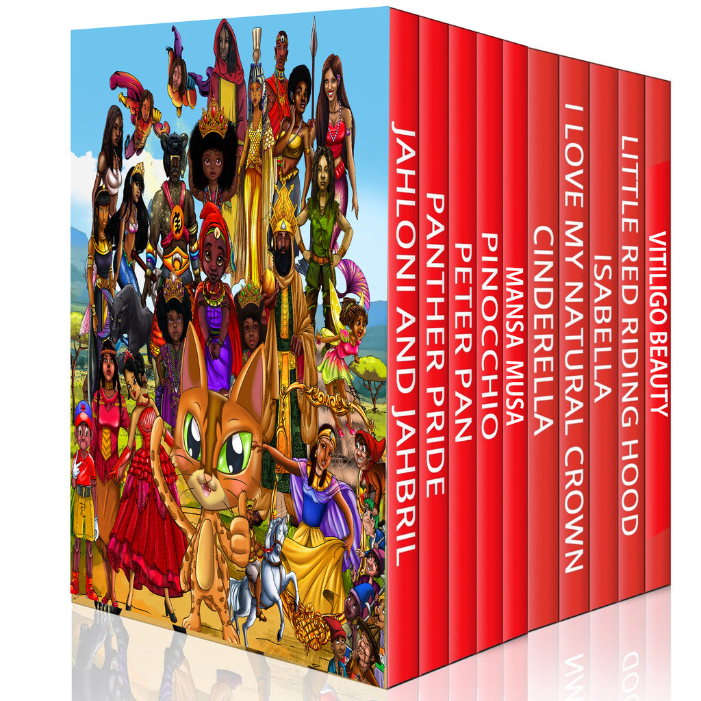 Urbantoons Family Book Bundle (1-11) Bonus 2 Coloring books