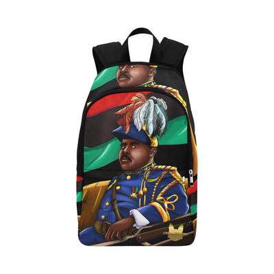 Urbantoons Marcus Garvey Bookbag Fabric Backpack for Adult (Model 1659) - UrbanToons Inc.
