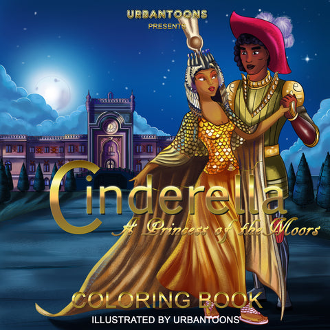 Urbantoons Cinderella Activity COLORING BOOK