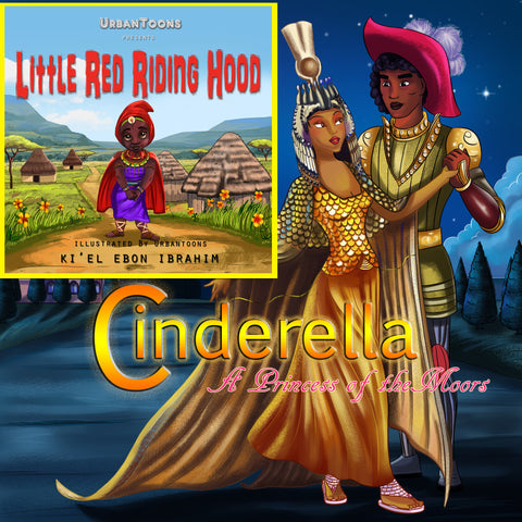 Urbantoons Little Red Riding Hood & Cinderella Combo Pack