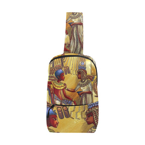 Urbantoons Kemet Love Chest Bag (Model 1678) - UrbanToons Inc.