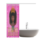 "Shakura SHOWER CURTAIN Shower Curtain 72""x84"" - UrbanToons Inc."
