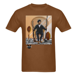 Huey P Newtown Sunny Men's T-shirt (USA Size) (Model T02) - UrbanToons Inc.