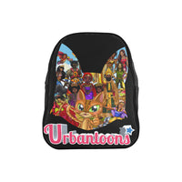 Urbantoons Toon Nations Kids Med School Backpack (Model 1601)(Medium) - UrbanToons Inc.