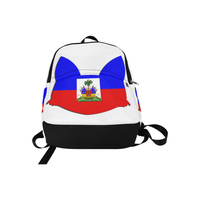 Urbantoons Haiti Bookbag Fabric Backpack - UrbanToons Inc.