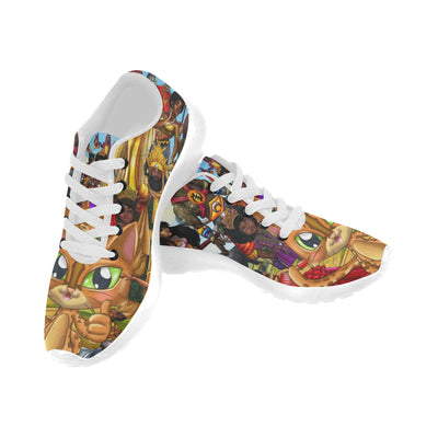 Urbantoons Toon Drip Sneakers Kids Kid's Running Shoes (Model 020) - UrbanToons Inc.