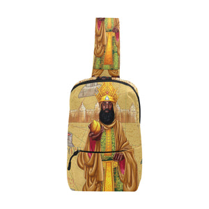 Urbantoons Mansa Musa Fanny Pack Chest Bag (Model 1678) - UrbanToons Inc.