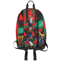 Marcus Garvey Red Army Large Capacity Travel Backpack (Model 1691) - UrbanToons Inc.