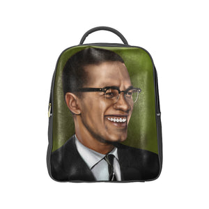 Malcolm X Backpack Adult - UrbanToons Inc.