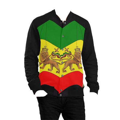 Haile Selassie I Baseball Jacket Men - UrbanToons Inc.