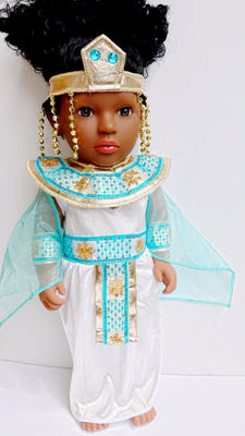 Urbantoons The Egyptian Princess Shakura Doll - UrbanToons Inc.