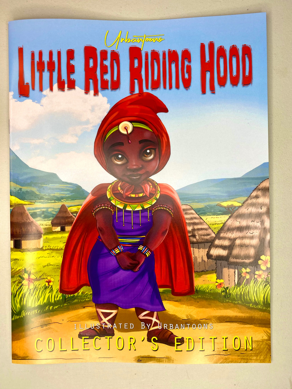 Little Red Riding Hood Collector'e Edition Signed  12x9 Book