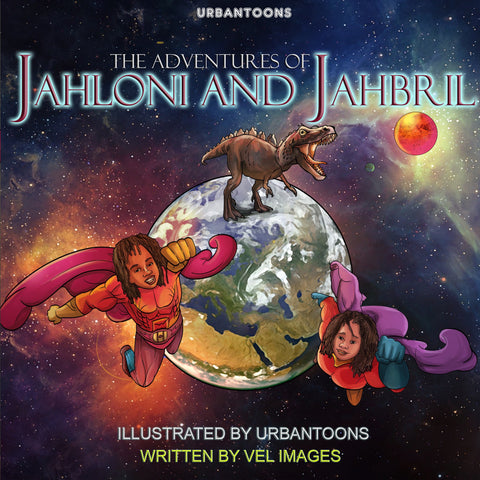 Urbantoons: The Adventures of Jahloni & Jahbril NEW