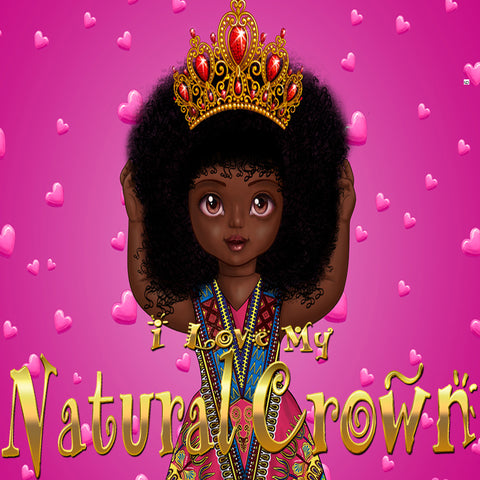 Urbantoons Shakura: I Love My Natural Crown (Nursery Rhymes)