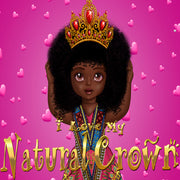 Urbantoons I Love My Natural Crown Whole / Bulk Min 25 units - UrbanToons Inc.
