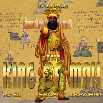 Urbantoons King Of Mali Bulk / Wholesale 25 unit Min - UrbanToons Inc.
