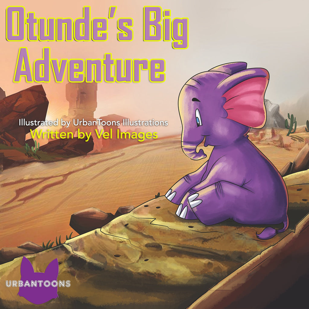 Urbntoons Otunde's Big Adventure - UrbanToons Inc.