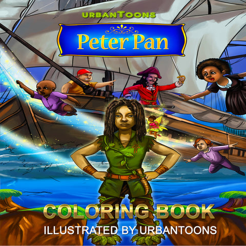 Urbantoons Peter Pan COLORING BOOK