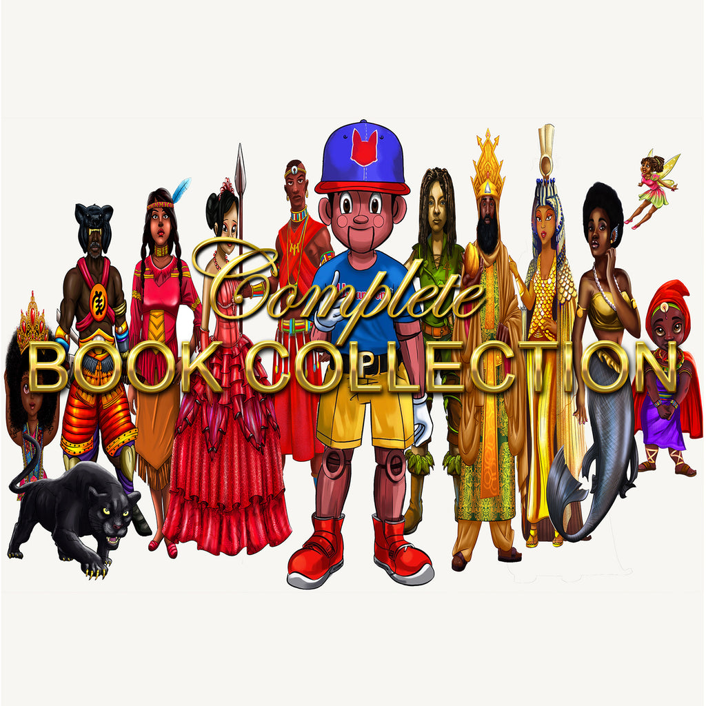 Urbantoons Family Book Bundle (1-11) Bonus 2 Coloring books - UrbanToons Inc.