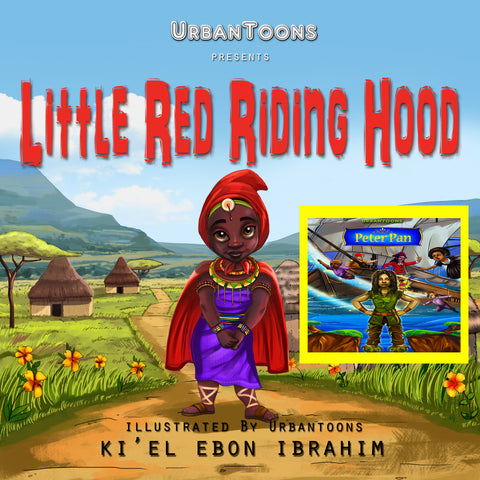 Little Red Riding Hood & Peter Pan COMBO PACK