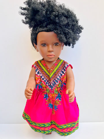 Urbantoons Shakura 16 inch (Natural Hair Doll)