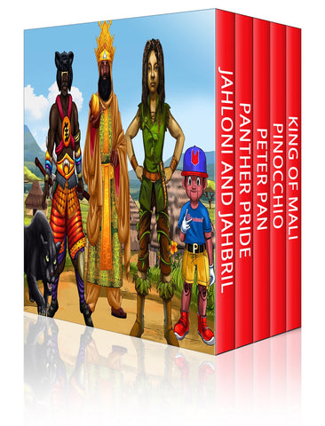 Urbantoons Boy's Bundle Collection (Books 1-5)