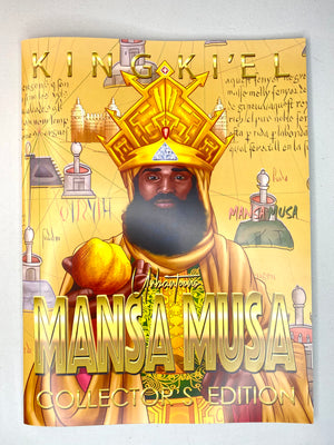 Mansa Musa Collector's Edition Signed 12x9 Book