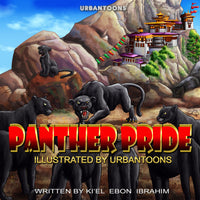 Urbantoons Panther Pride Wholesale / Bulk Book 25 units - UrbanToons Inc.