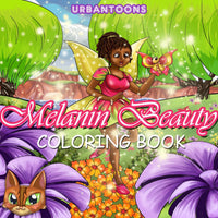 Melanin Princess Coloring Book (Download, Print & Color)