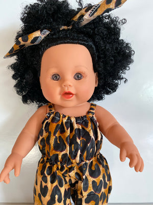 Baby Imani Leopard Print (Limited Collection) - UrbanToons Inc.