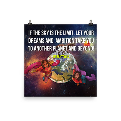 The Sky is the Limit - UrbanToons Inc.