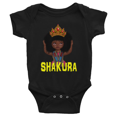 Urbantoons Shakura Crown Infant Bodysuit
