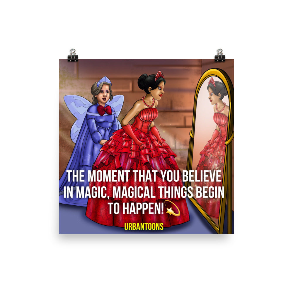 Urbantoons Isabella: Inspirational Magic 10x10 Poster - UrbanToons Inc.