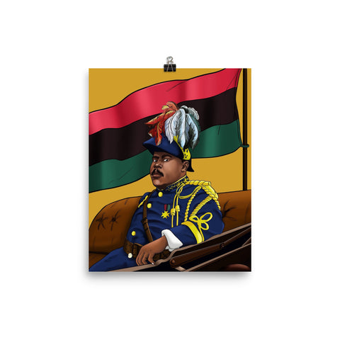 Urbantoons Marcus Garvey Poster 18 x 24 Photo paper poster