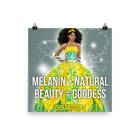 Urbantoons: Natural Beauty 10x10 Poster - UrbanToons Inc.